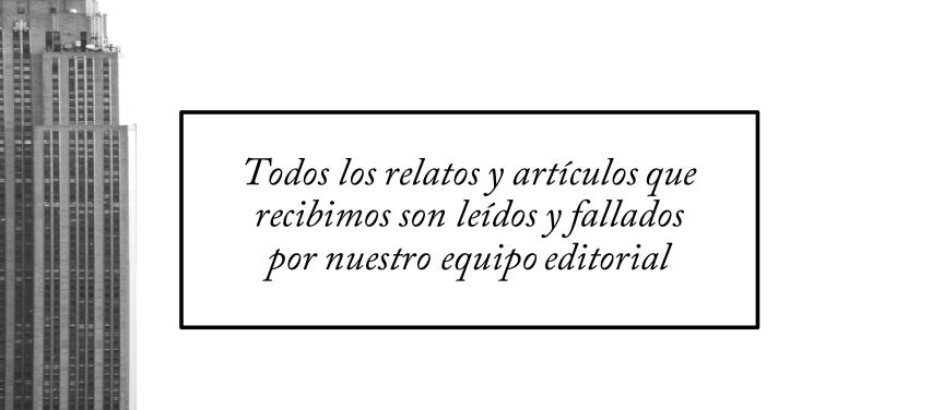 TALES, la revista del relato corto. Revista literaria donde publicar relato-cuento.