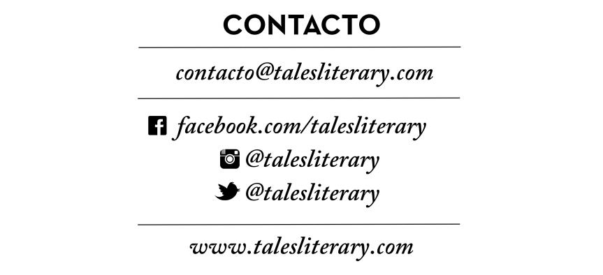 Contacta con TALES. La revista del relato corto. Publica tus cuentos en nuestra revista literaria.