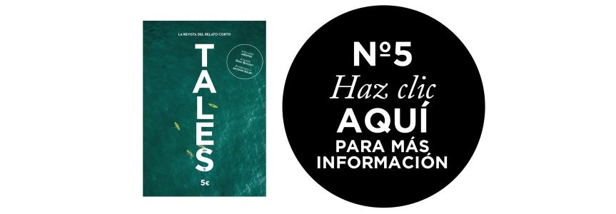 TALES, la revista del relato corto. Antonio Soler entrevista en TALES.