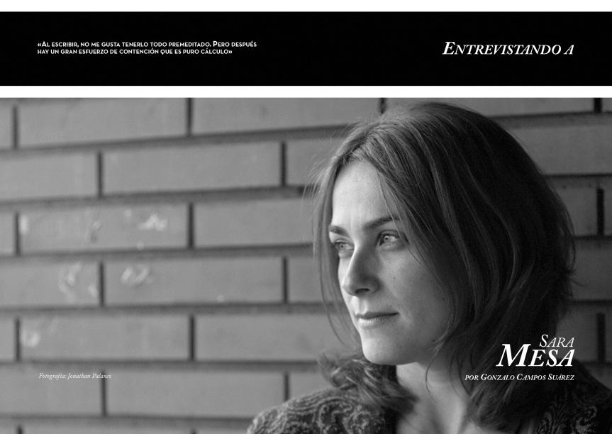 TALES. La revista del relato corto. Publicar relatos. Revista de relatos. www.talesliterary.com . Entrevista a Sara Mesa