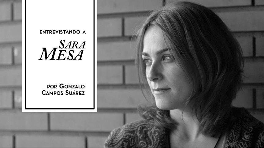 TALES. La revista del relato corto. Entrevista a Sara Mesa. Cicatriz. Mala letra. Anagrama. Relatos de Sara Mesa.
