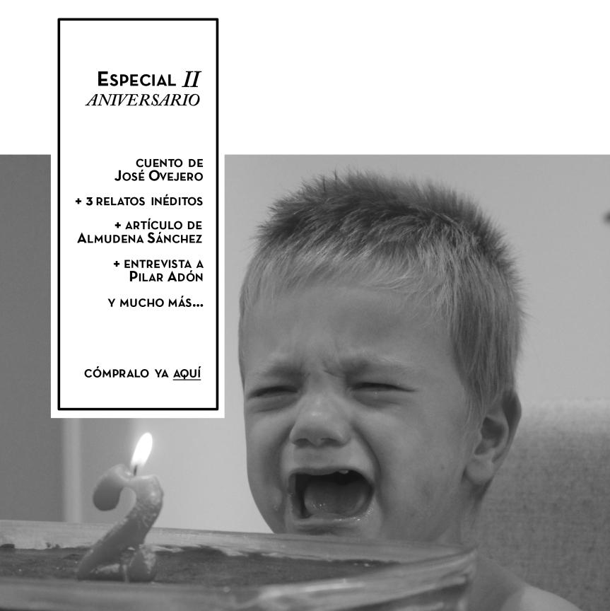 TALES. Revista de cuentos - Pilar Adón - José Ovejero - Jon Bi
