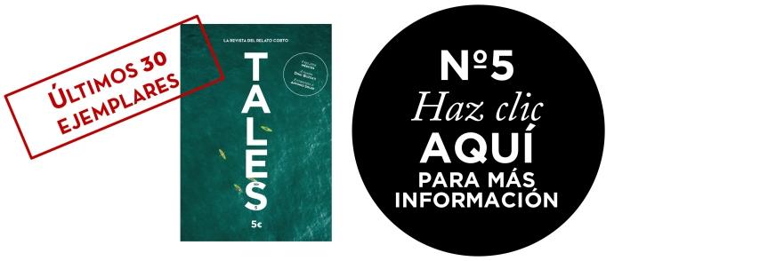 TALES. Revista de relatos. Publica tu cuento. TALES. La revista del relato corto. Entrevista a Antonio Soler.