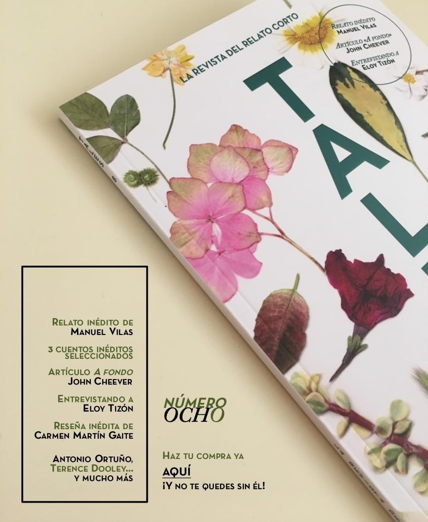 TALES. Revista literaria de cuentos - Carmen Martín Gaite - Man